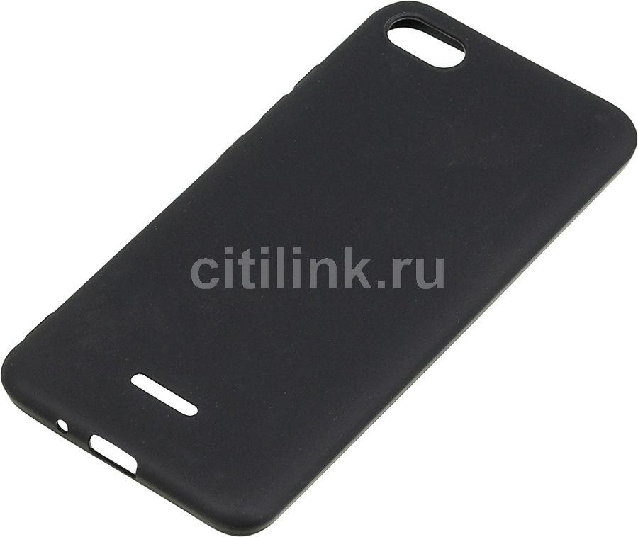 Чехол (клип-кейс) GRESSO Meridian, для Xiaomi Redmi 6A, черный
