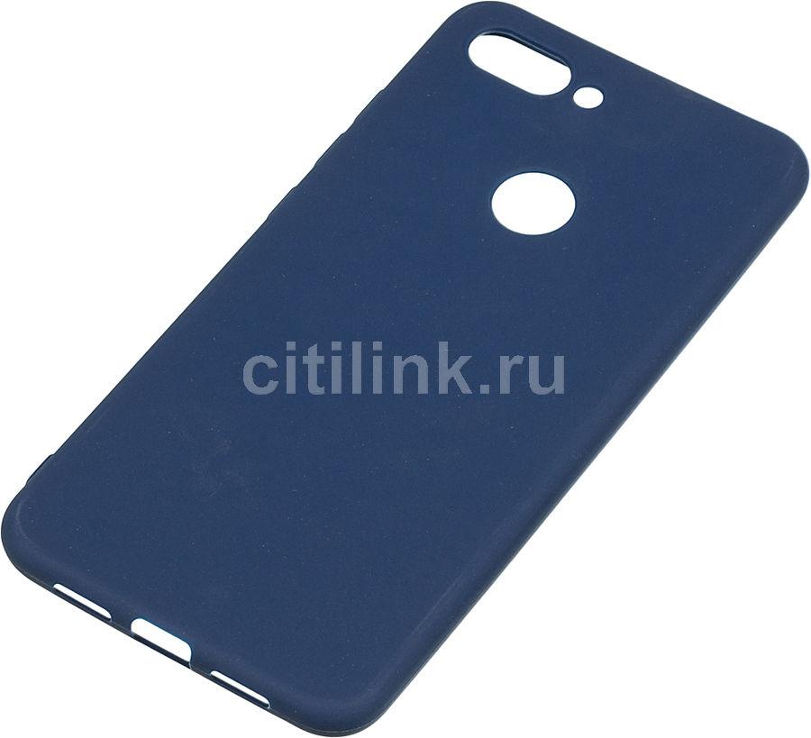 Чехол (клип-кейс)  Gresso Meridian, для Xiaomi Mi 8 Lite, темно-синий [gr17mrn500]