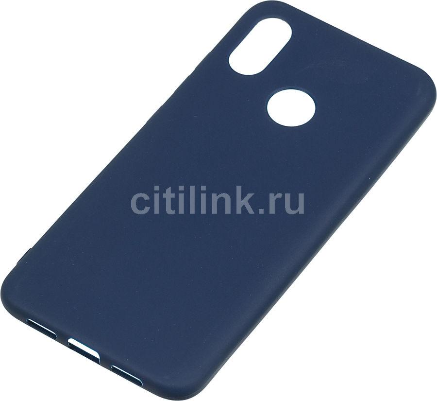 Чехол (клип-кейс) GRESSO Meridian, для Xiaomi Mi 8, темно-синий [gr17mrn260]
