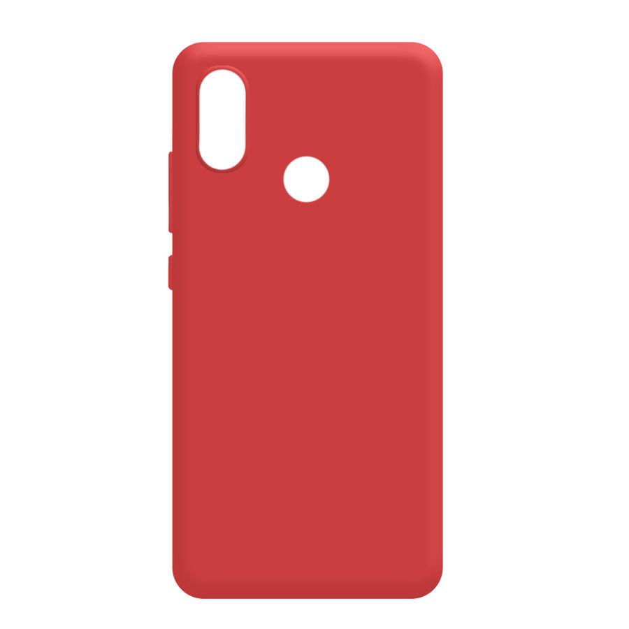 Чехол (клип-кейс) GRESSO Meridian, для Xiaomi Mi 8, красный [gr17mrn502]
