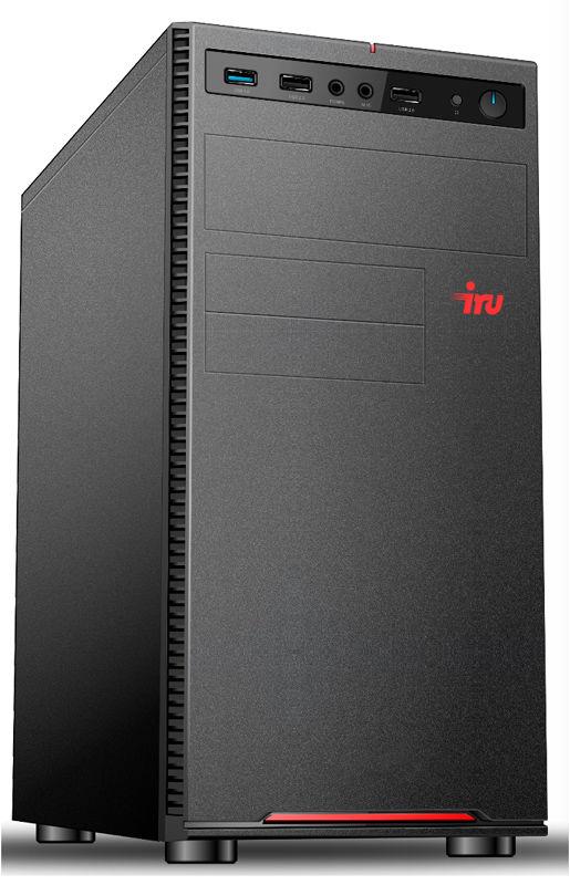 Компьютер  IRU Home 225,  AMD  Ryzen 5  2400G,  DDR4 8Гб, 1000Гб,  AMD Radeon RX Vega 11,  Windows 10 Home,  черный [1122542]