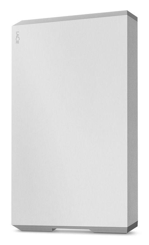 Внешний жесткий диск LACIE Mobile Drive STHG2000400, 2Тб, серебристый