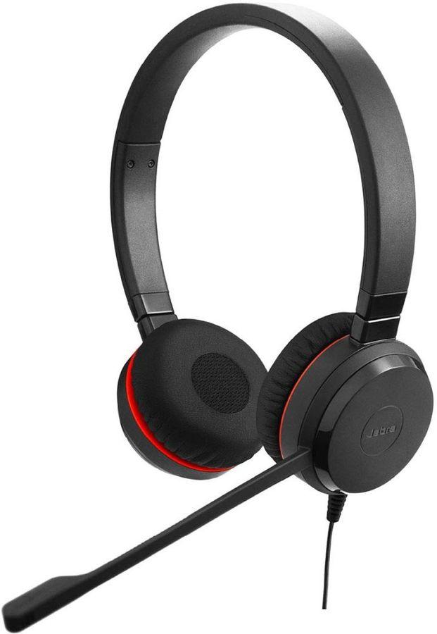 Наушники с микрофоном JABRA Evolve 30 II MS,  накладные, черный  [5399-823-309]