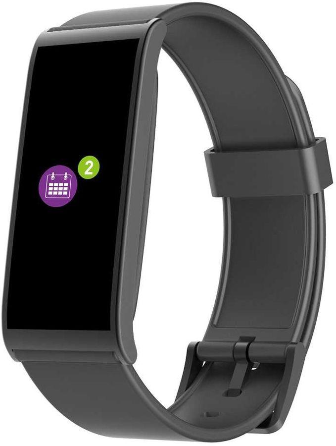 "Смарт-часы MYKRONOZ ZeFit 4HR,  18.6мм,  1.06"",  черный / черный [krzefit4hr-black]"