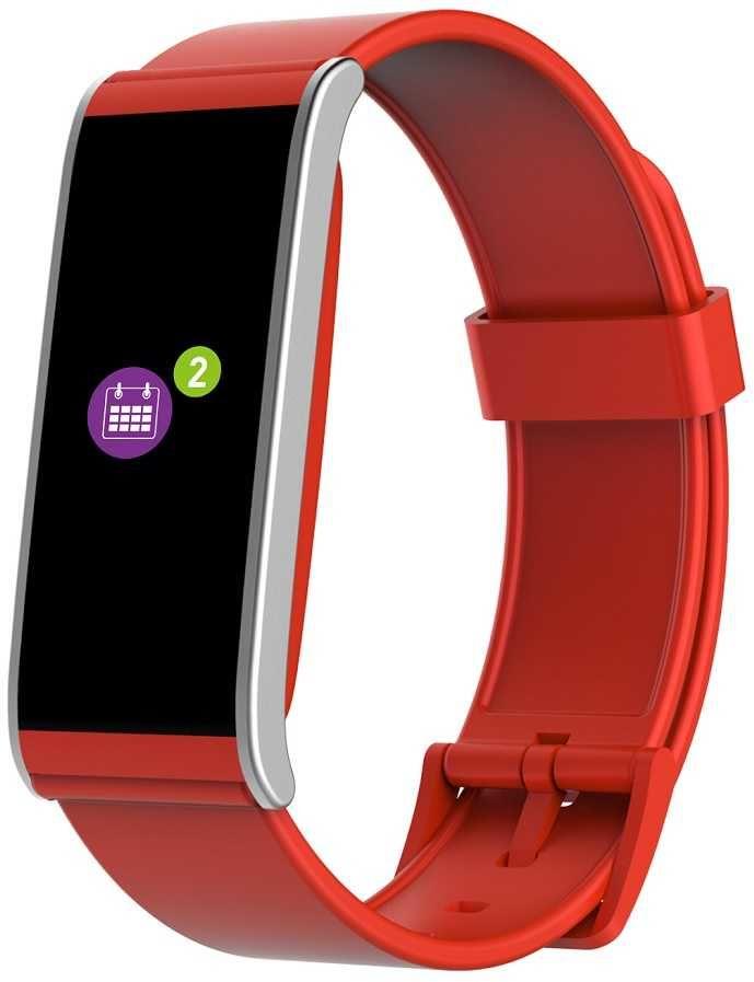 "Смарт-часы MYKRONOZ ZeFit 4HR,  18.6мм,  1.06"",  красный / красный [krzefit4hr-red]"