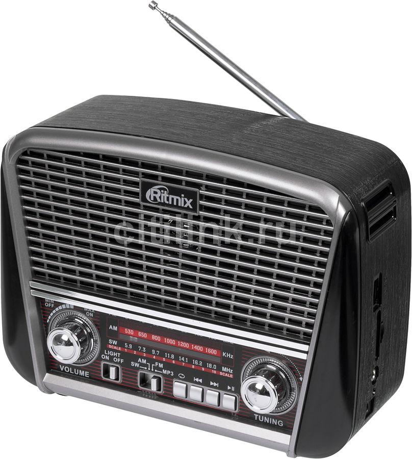 Радиоприемник RITMIX RPR-065,  черный