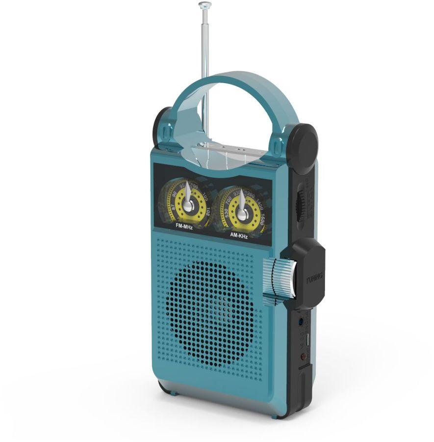 Радиоприемник RITMIX RPR-333,  синий