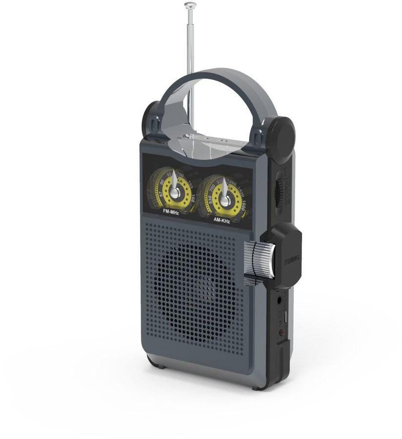 Радиоприемник RITMIX RPR-333,  титан