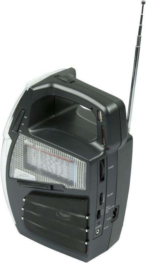 Радиоприемник RITMIX RPR-555,  черный
