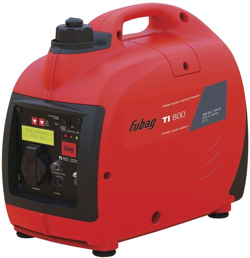 Бензиновый генератор FUBAG TI 800,  220 В,  0.8кВт [838977]