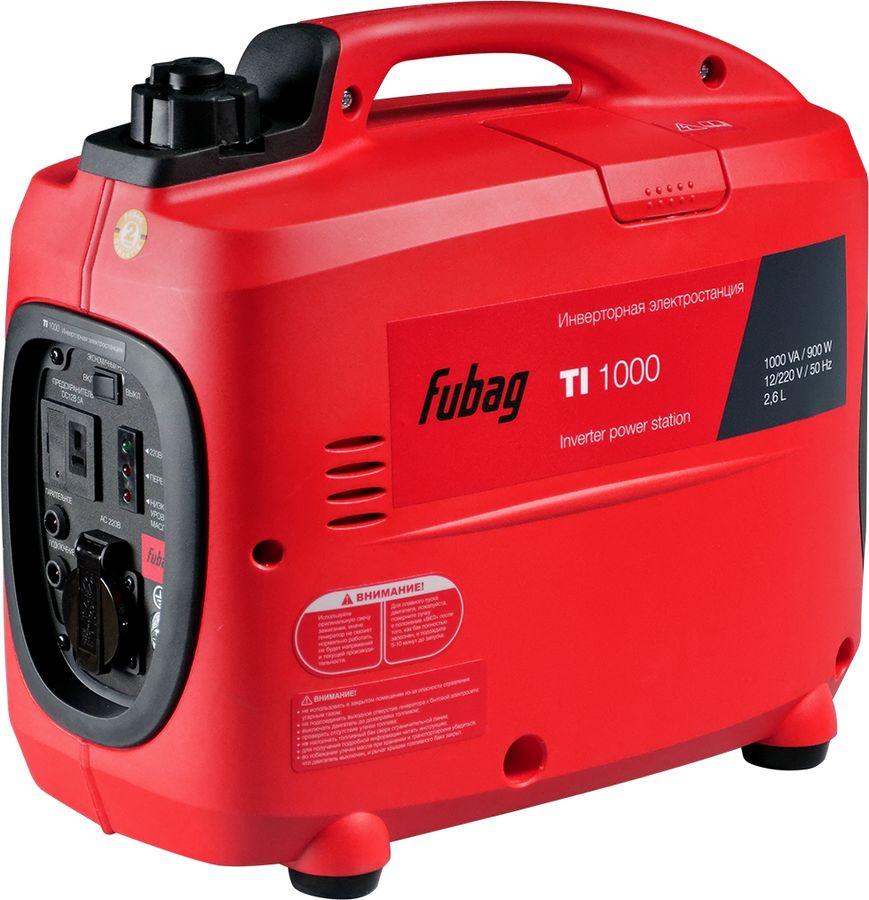Бензиновый генератор FUBAG TI 1000,  220 В,  1кВт [838978]