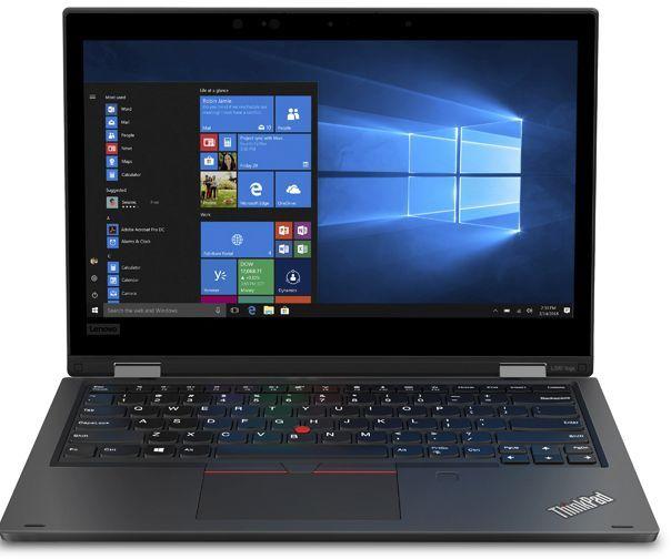 """Ноутбук LENOVO ThinkPad L390 Yoga, 13.3"""",  IPS, Intel  Core i7  8565U 1.8ГГц, 8Гб, 256Гб SSD,  Intel UHD Graphics  620, Windows 10 Professional, 20NT0014RT,  черный"""