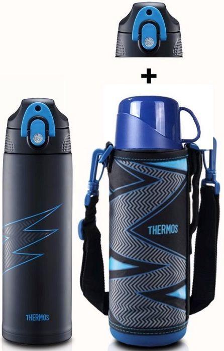Термос THERMOS FFR-1004-WF, 1л, синий
