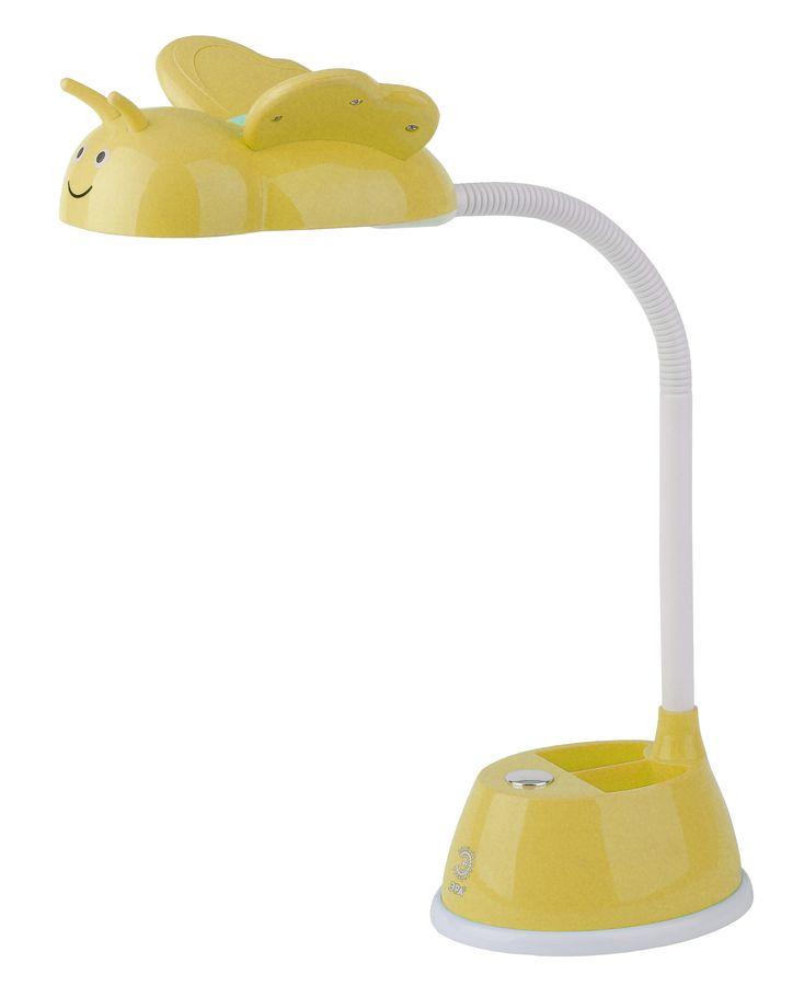Светильник настольный ЭРА NLED-434-6W-Y на подставке,  6Вт,  желтый [б0031618]