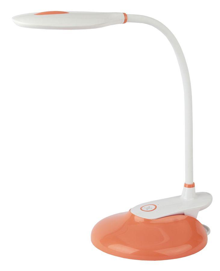 Светильник настольный ЭРА NLED-459-9W-OR на подставке,  9Вт,  белый [б0028461]