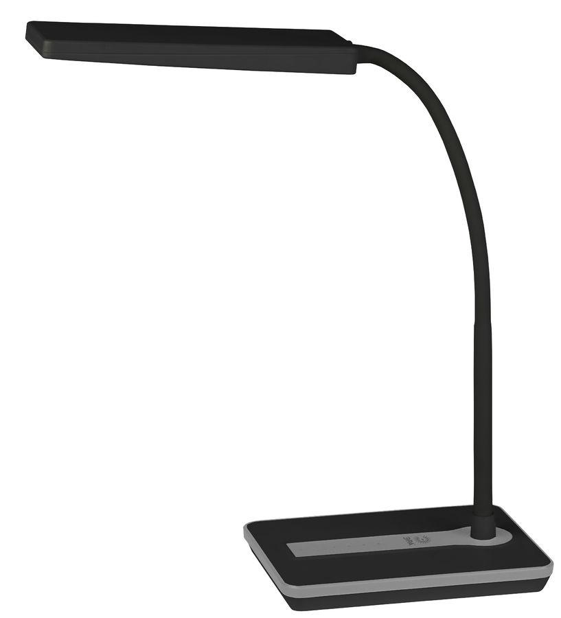Светильник настольный ЭРА NLED-446-9W-BK на подставке,  9Вт,  черный [б0017431]