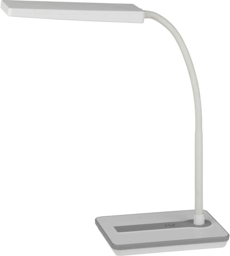 Светильник настольный ЭРА NLED-446-9W-W на подставке,  9Вт,  белый [б0017432]