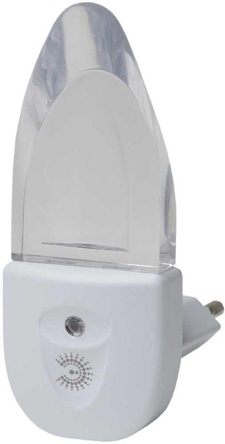 Ночник Эра NN-618-LS-W пластик белый