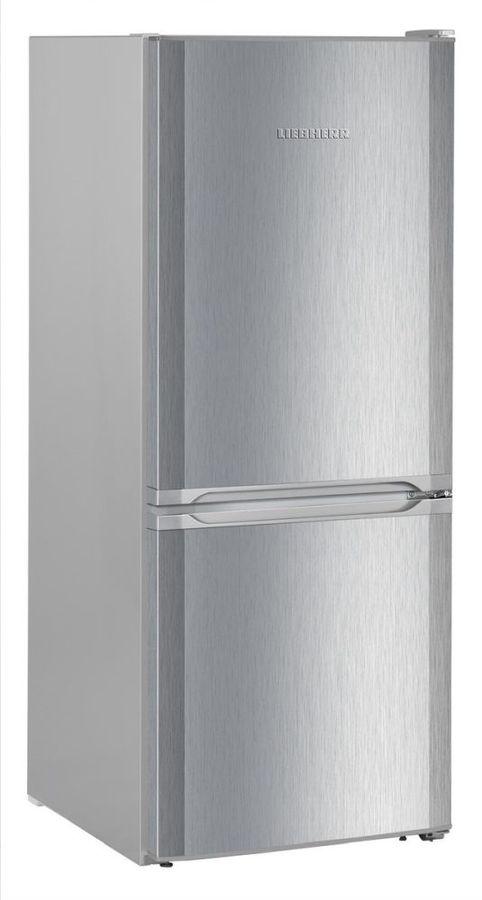 Холодильник LIEBHERR CUel 2331,  двухкамерный, нержавеющая сталь