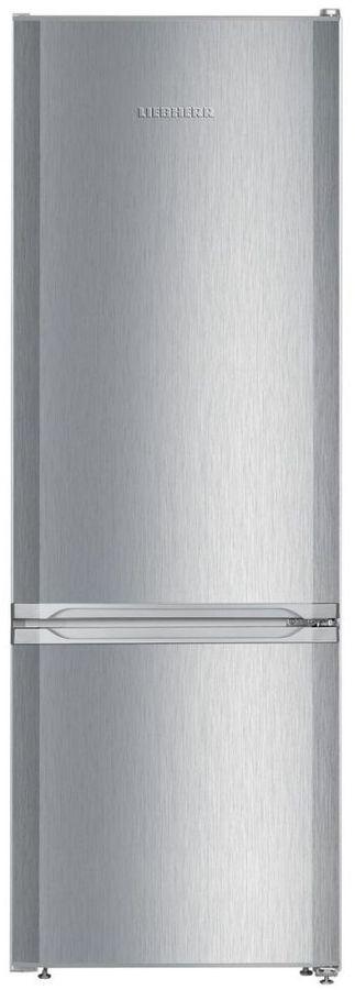 Холодильник LIEBHERR CUel 2831,  двухкамерный, нержавеющая сталь