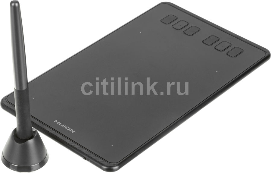 Графический планшет HUION Inspiroy H640P черный