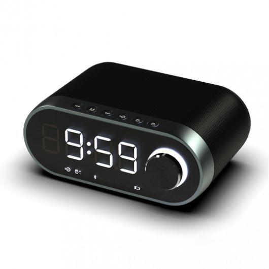 Радиобудильник RITMIX RRC-959, белая подсветка,  черный