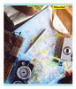 Тетрадь Silwerhof 812023-55 48л. клет. A5 Путешествия 4диз. картон вод.лак скрепка вид 5