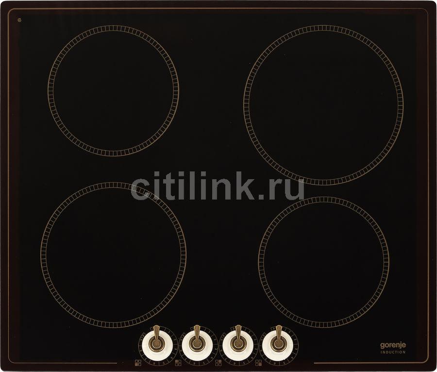 Индукционная варочная панель GORENJE IK640CLI,  индукционная,  независимая,  черный