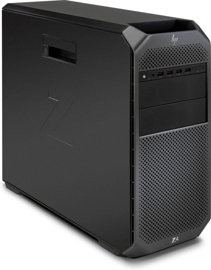 Рабочая станция  HP Z4 G4,  Intel  Xeon  W-2125,  DDR4 16Гб, 1000Гб,  256Гб(SSD),  DVD-RW,  Windows 10 Professional,  черный [3mb66ea]