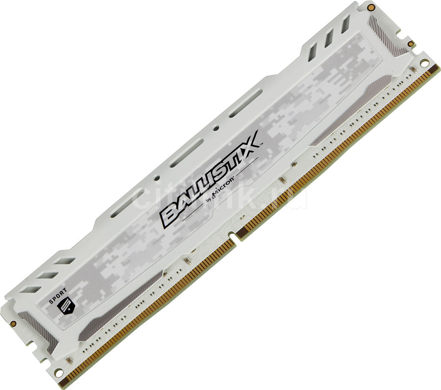 Модуль памяти CRUCIAL Ballistix Sport LT BLS16G4D30AESC DDR4 -  16Гб 3000, DIMM,  Ret