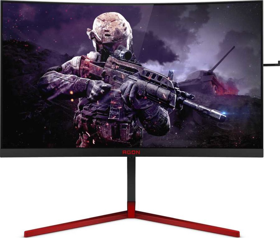 "Монитор AOC 27"" Gaming AG273QCG TN 2560x1440 165Hz G-Sync 400cd/m2 16:9"