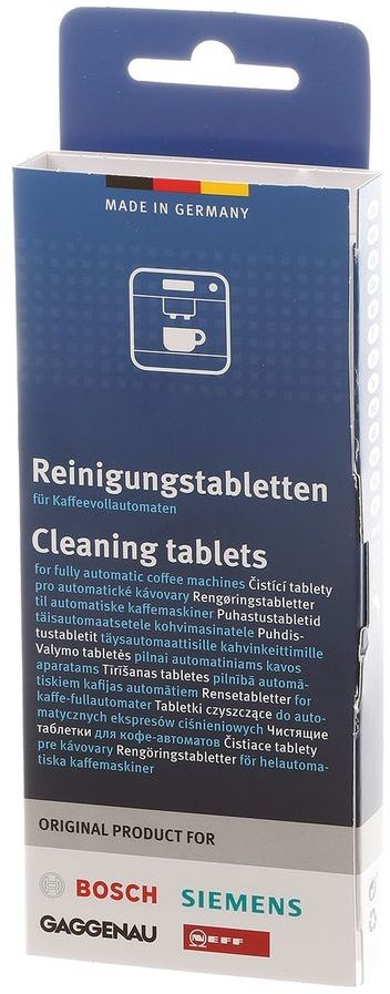 Очищающие таблетки BOSCH 00311969,  для кофемашин,  10 шт