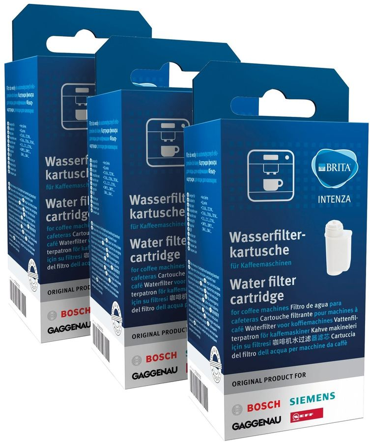 Водяной фильтр BOSCH 17000706,  для кофемашин,  3 шт