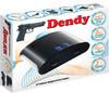 Игровая консоль DENDY 255 игр, световой пистолет,  черный