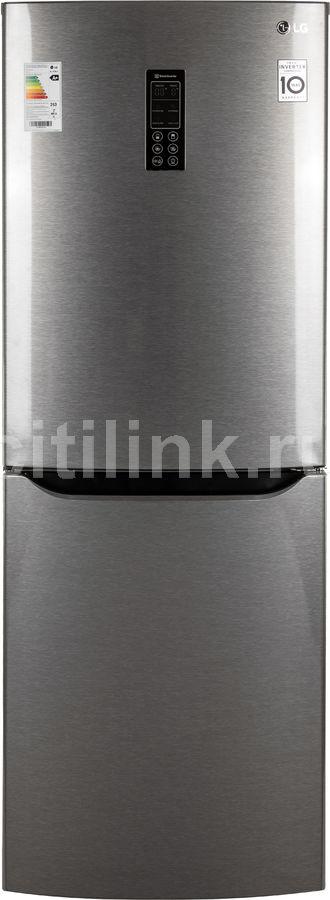 Холодильник LG GA-B379SLUL,  двухкамерный, серебристый