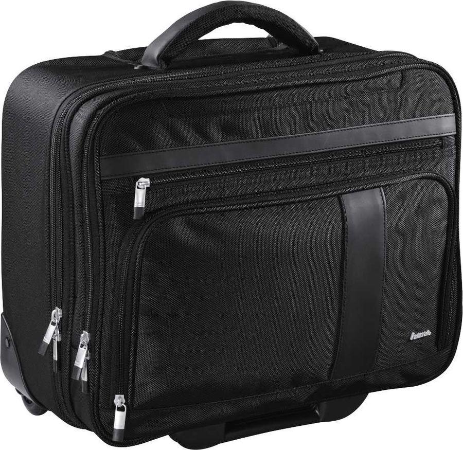 """Сумка для ноутбука 15.6"""" HAMA Dublin Notebook-Trolley, черный [00101279]"""