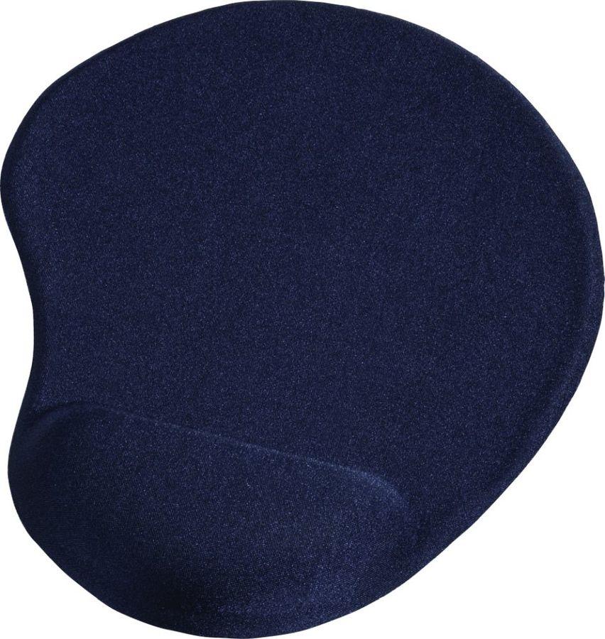 Коврик для мыши HAMA Ergonomic,  синий [00054778]