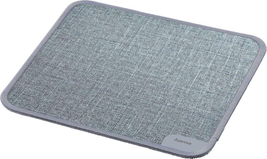 Коврик для мыши HAMA Textile Design,  серый [00054798]