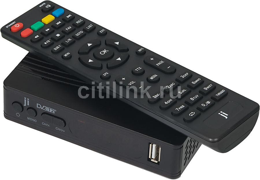 Ресивер DVB-T2 JINGA JT2-2702,  черный