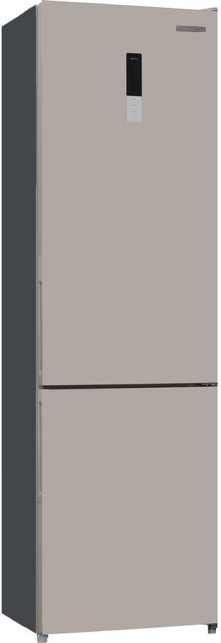 Холодильник KENWOOD KBM-2000NFDBE,  двухкамерный, бежевый