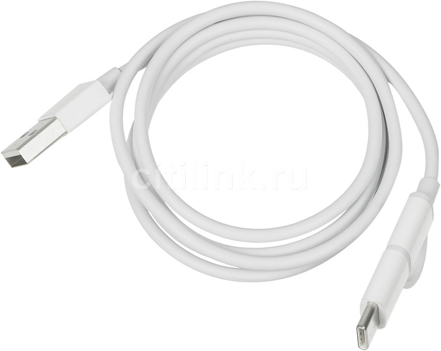 Кабель XIAOMI Mi 2-in-1,  micro USB B (m),  USB Type-C (m),  USB A(m),  1м,  белый [sjv4082ty]