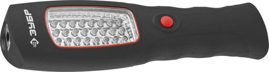 Налобный фонарь ЗУБР 61816, черный