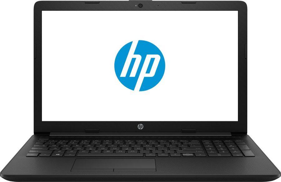 """Ноутбук HP 15-da1054ur, 15.6"""",  Intel  Core i5  8265U 1.6ГГц, 4Гб, 500Гб,  Intel HD Graphics  620, Free DOS, 6PU75EA,  черный"""