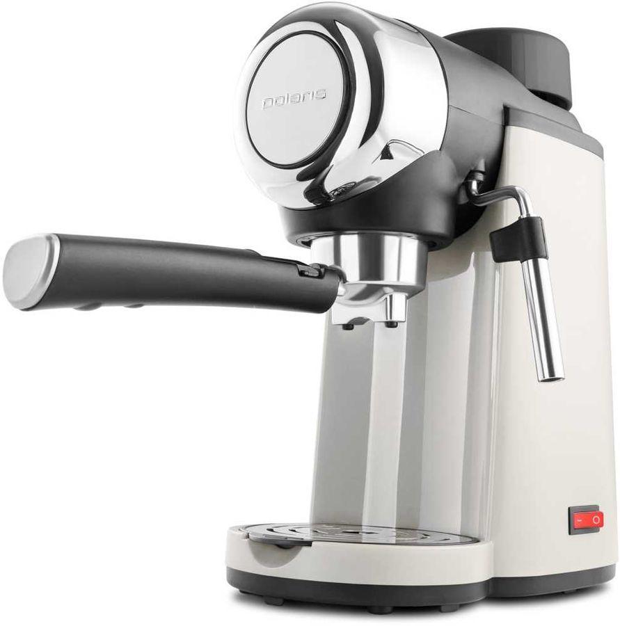 Кофеварка POLARIS PCM 4005A,  эспрессо,  бежевый