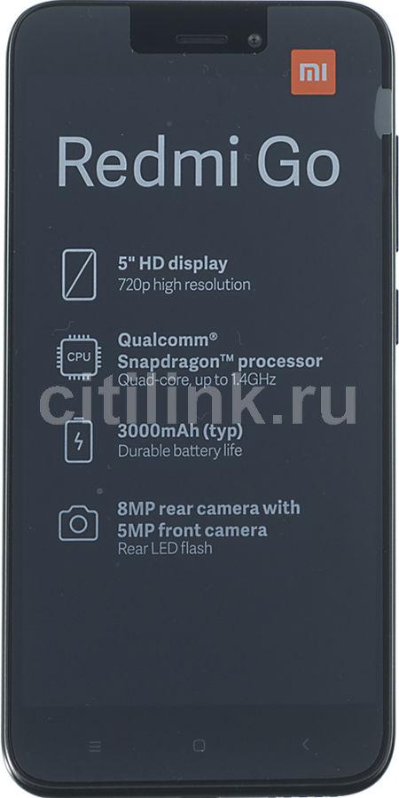 Смартфон XIAOMI Redmi Go 8Gb,  черный
