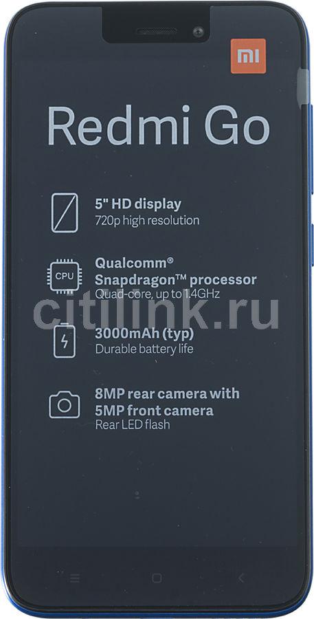 Смартфон XIAOMI Redmi Go 8Gb,  синий