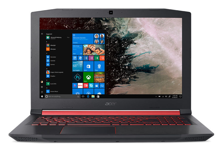 "Ноутбук ACER Nitro 5 AN515-52-736W, 15.6"",  IPS, Intel  Core i7  8750H 2.2ГГц, 16Гб, 512Гб SSD,  nVidia GeForce  GTX 1060 - 6144 Мб, Windows 10 Home, NH.Q3XER.023,  черный"
