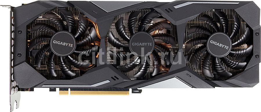 Видеокарта GIGABYTE nVidia  GeForce GTX 1660TI ,  GV-N166TGAMING OC-6GD,  6Гб, GDDR6, OC,  Ret