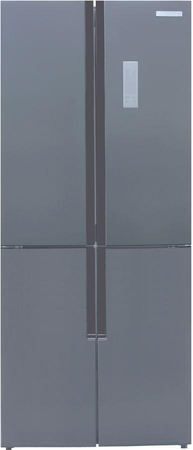 Холодильник KENWOOD KMD-1815X,  трехкамерный, нержавеющая сталь