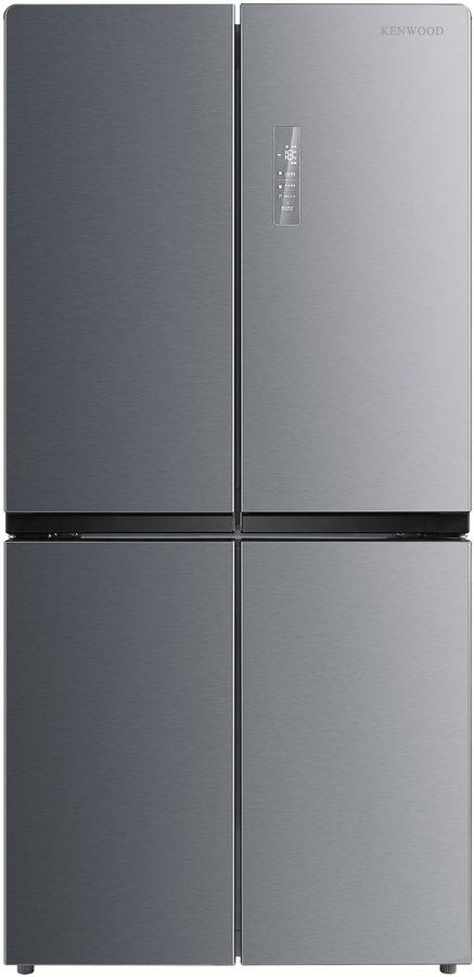 Холодильник KENWOOD KMD-1775DX,  трехкамерный, нержавеющая сталь